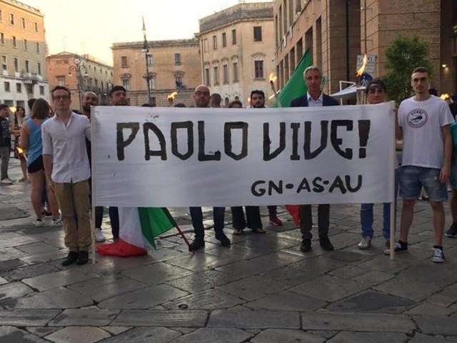 Doppia fiaccolata per Borsellino a Lecce e a Nardò. Pd polemico con Andare oltre
