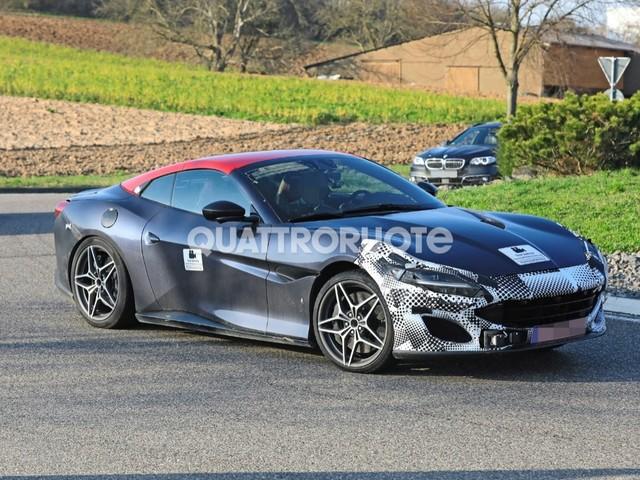 Ferrari Portofino - Primi collaudi stradali per il facelift