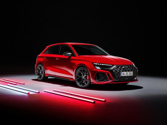 Nuova Audi RS3 al debutto