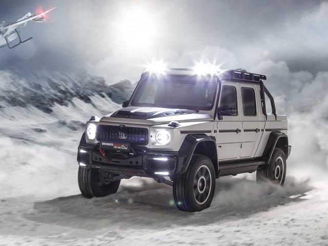 Brabus 800 Adventure XLP, il pickup per chi ama l'avventura al Salone di Ginevra