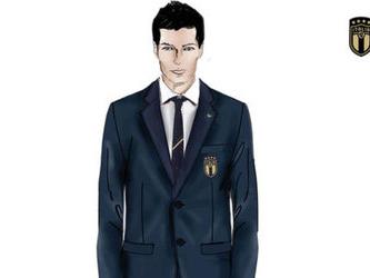 Giorgio Armani veste la nazionale italiana di calcio