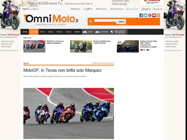 MotoGP, in Texas non brilla solo Marquez