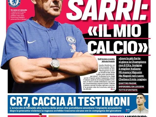 Corriere dello Sport – Lautaro scatenato L'Inter se lo gode