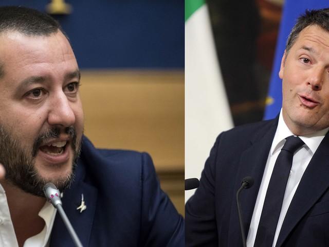 """Salvini vs Renzi I due Mattei """"costretti"""" a farsi la guerra"""