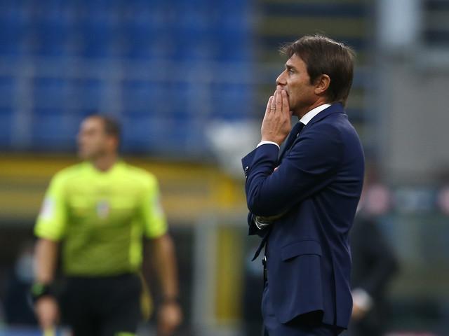 Conte si perde nella centifruga Inter