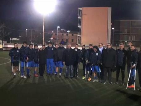 L'altra Italia che va al Mondiale: la Nazionale amputati si allena a Genova