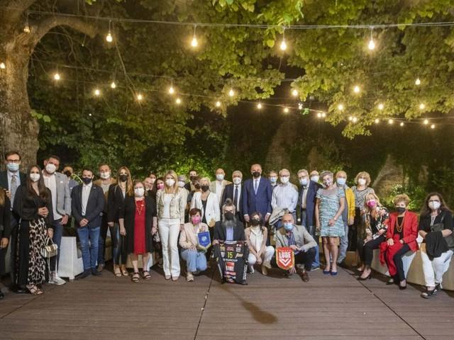 Il Panathlon Club Macerata festeggia 70 anni: nuovi soci Juan Luca Sacchi e Carola Cicconetti