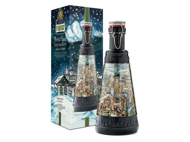 16° edizione per la Birra di Natale Forst nella pregiata bottiglia da 2 litri