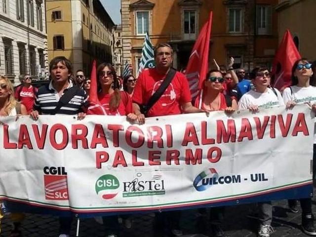 Esuberi Almaviva a Palermo, si cercano soluzioni