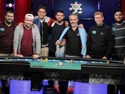 2017 WSOP Main Event Final Table: i Protagonisti