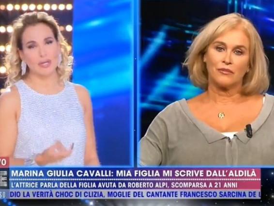 """Marina Giulia Cavalli comunica con la figlia morta attraverso la moglie di Franco Gatti: """"Un dono"""""""