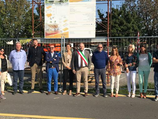 Gussola, il gran giorno delle palestre: presentati i lavori al PalaGhidetti e alla Roncalli