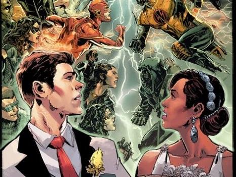 """Arrow, The Flash, Supergirl e Legends of Tomorrow: il crossover a """"cinque"""" conferma il matrimonio dei WestAllen?"""