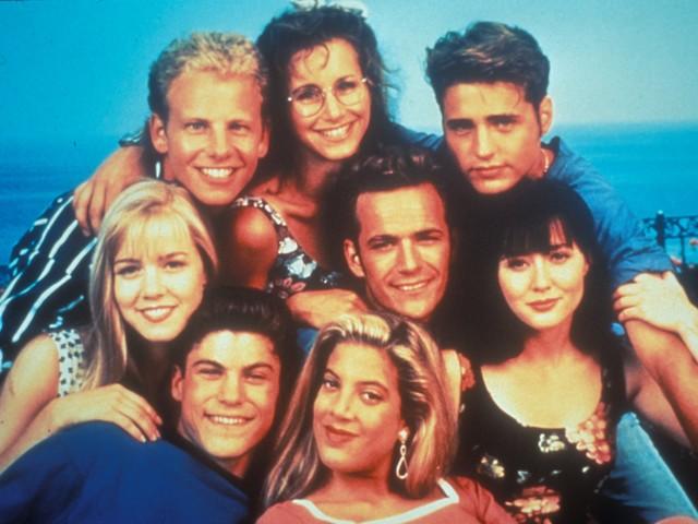 Beverly Hills 90210: la reunion del cast in memoria di Luke Perry