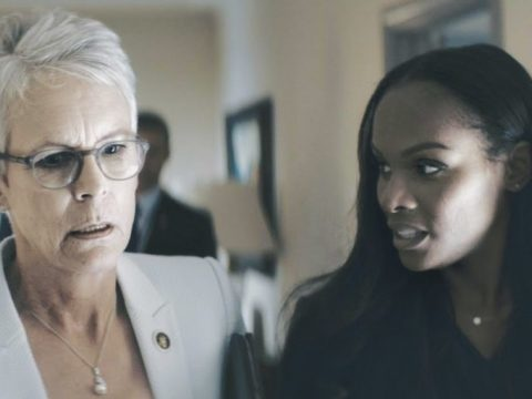 Jamie Lee Curtis nel trailer del film An Acceptable Loss