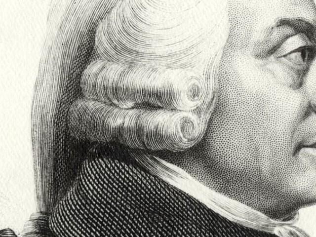 Inet, Adam Smith e il ruolo dell'economia nella società