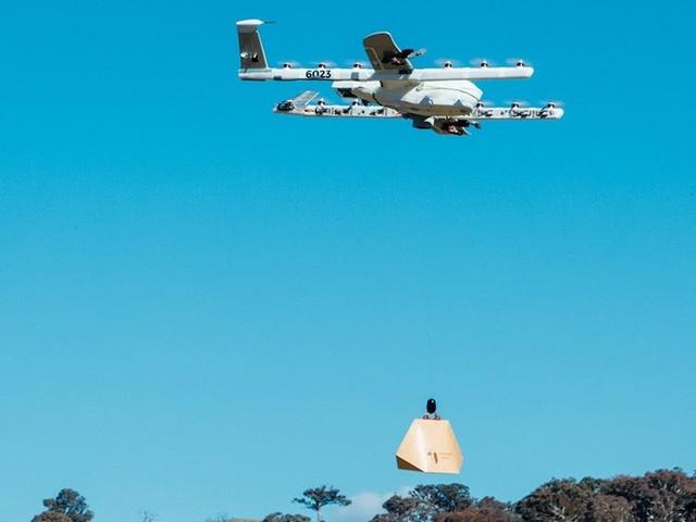 Wing di Google, prime consegne con i droni