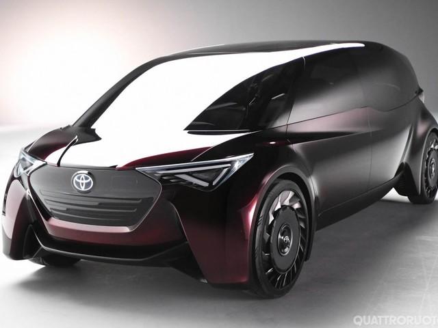 Toyota Fine-Comfort Ride<br> - A Tokyo una nuova concept a fuel cell