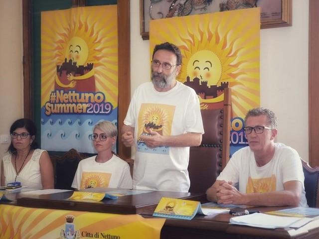 Comune di Nettuno - Presentato il programma dell'estate Nettuno Summer 2019