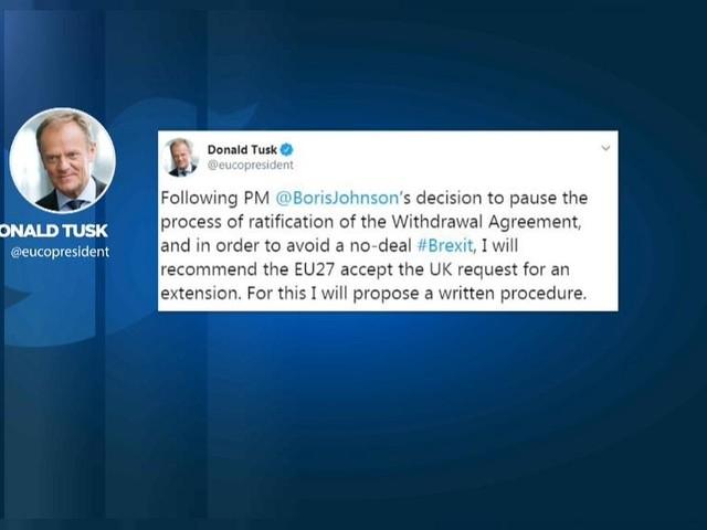 Brexit, Donald Tusk: Proporrò a Ue di accettare richiesta proroga