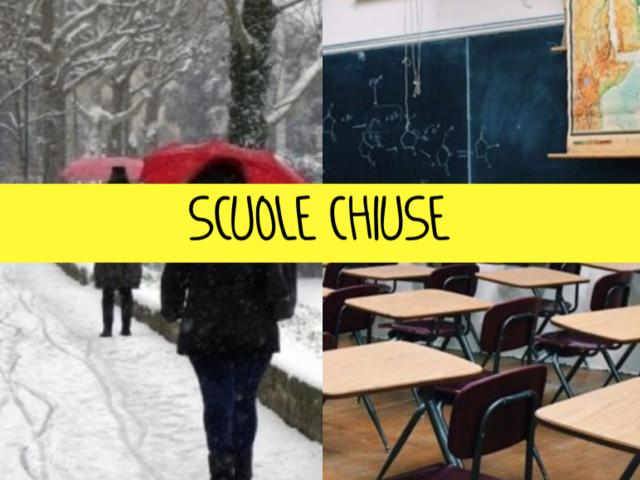 """""""Scuole chiuse il 23 gennaio"""". Emergenza neve: tutte le regioni e i comuni interessati"""
