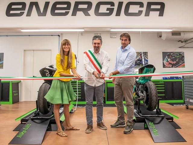 Energica inaugura il nuovo Sport Production Dept