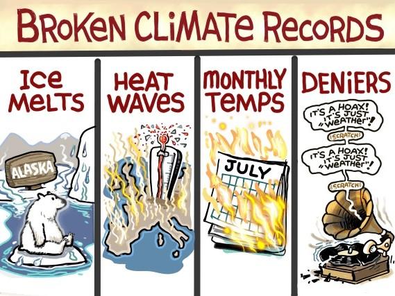 Cambiamenti climatici, convincere la gente può essere difficile sia per i negazionisti che per gli ambientalisti