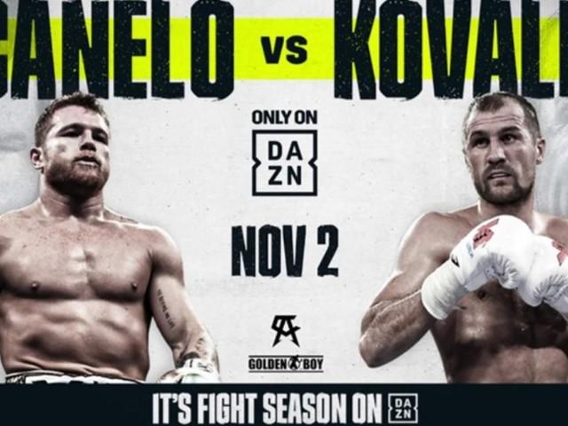 Boxe, ufficiale: il supermatch Canelo vs Kovalev, si farà il 2 novembre a Las Vegas