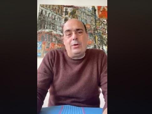 """Nicola Zingaretti: """"Ho passato brutte giornate, ma sono guarito dal coronavirus"""""""
