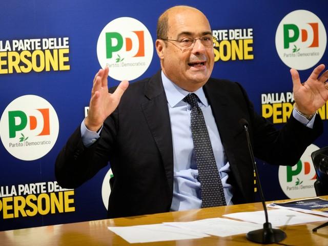 Zingaretti soffia sul fuoco: 'Non escludo lockdown'