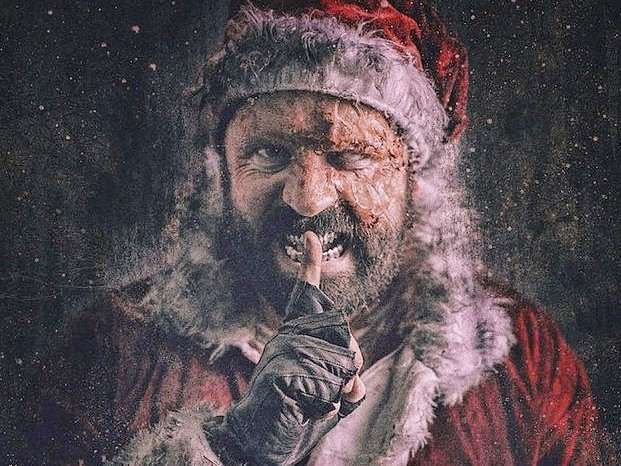 Once Upon a Time at Christmas: trailer e poster del film horror natalizio di Paul Tanter