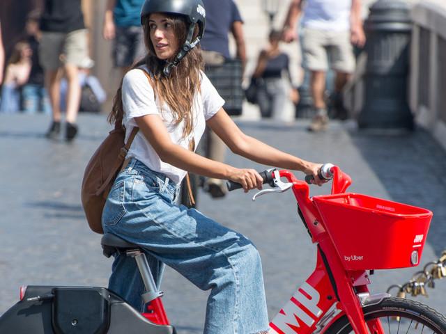 Uber, il servizio di bike-sharing JUMP a Roma