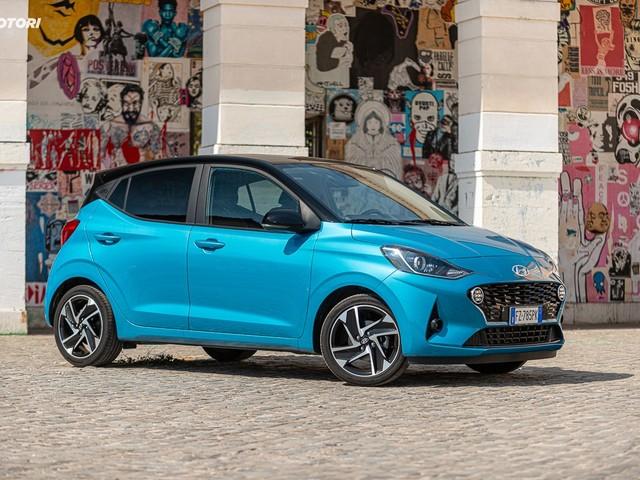 Hyundai i10 1.0 MT Prime: la prova su strada