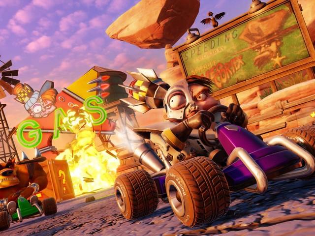Crash Team Racing Nitro Fueled: risoluzione e frame rate su PS4, Xbox One e Switch