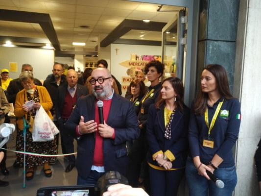 Inaugurato il Mercato coperto di Campagna Amica Coldiretti Gorizia