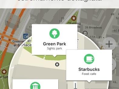 MAPS.ME — mappe offline si aggiorna alla vers 8.2.4