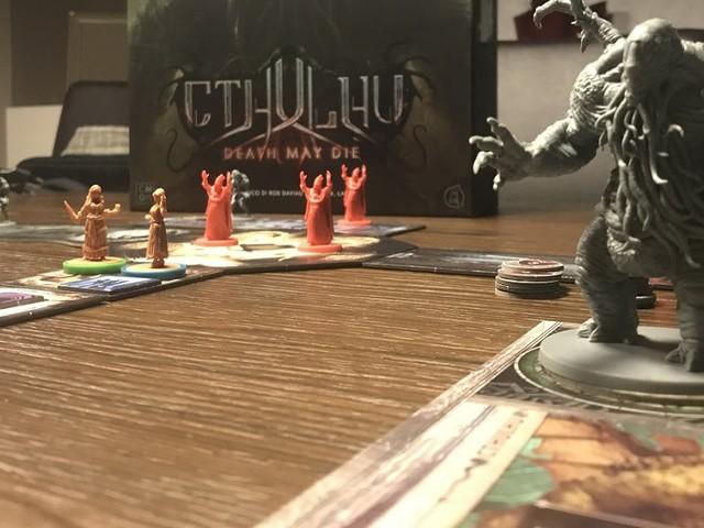 [Solo sul mio tavolo] Cthulhu: Death May Die