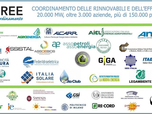 Energie rinnovabili ed efficienza energetica per far ripartire l'Italia