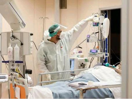 Covid, oggi 14 trentini deceduti in terapia intensiva 42 persone e 478 ricoverati in generale