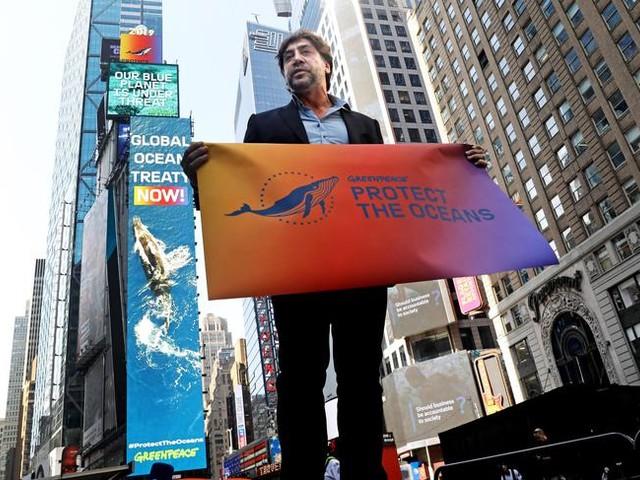 Javier Bardem all'Onu per gli Oceani
