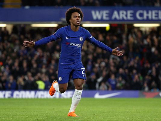 Chelsea, Hazard via? Non tutti sarebbero tristi: la reazione di Willian è inaspettata