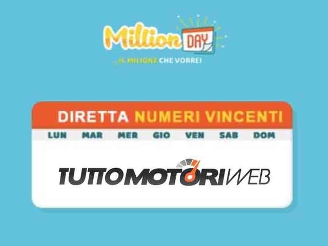 Estrazione Million Day del 12 Gennaio 2019: Diretta Live Video