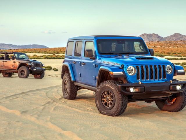 Jeep Wrangler Rubicon 392, l'offroad da sogno