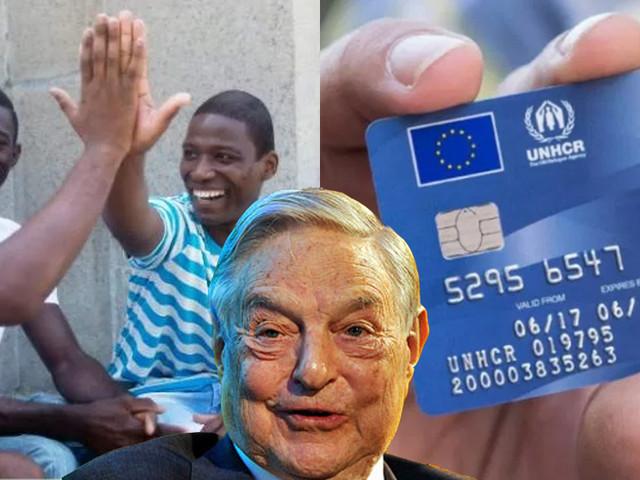 La bufala delle carte prepagate ai migranti finanziate da Soros