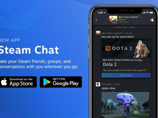 La chat di Steam approda su iOS e Android con un'app tutta sua