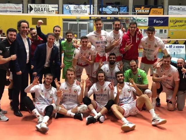 Volley, il derby è della Med Store Macerata: Fano si arrende al tie-break