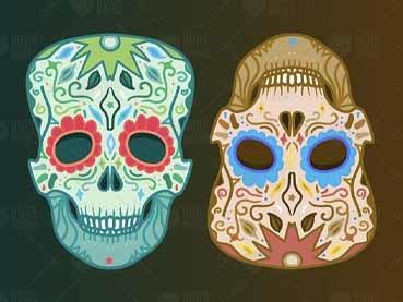 50+ Best Skull Vectors (Sugar Skulls, Skull & Cross Bones, andMore!)
