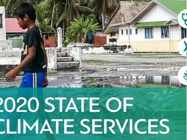 Servizi climatici, Wmo: passare dagli allarmi precoci alle azioni precoci