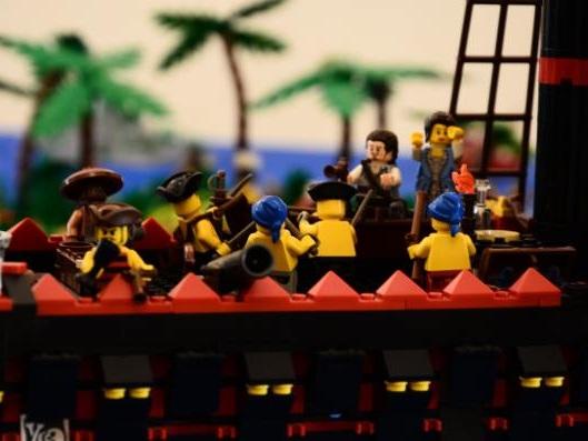 I love Lego, i mattoncini Lego in mostra a Follonica