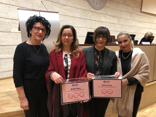 """Bollini rosa, Città di Castello e Branca ospedali """"a misura di donna"""""""